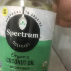 Spectrum Culinary, Organic Coconut Oil, Refined, 14 fl oz (414 ml