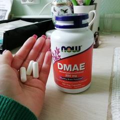 Now Foods, DMAE, 250 mg, 100 Veg Capsules - customer photo 7