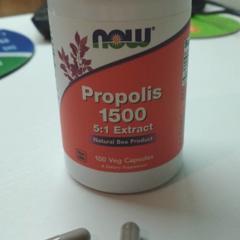 Now Foods, Propolis 1500, 300 mg, 100 Veg Capsules - iHerb com
