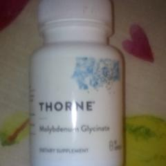 Thorne Research, Molybdenum Glycinate, 60 Capsules
