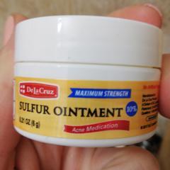 De La Cruz, Sulfur Ointment, Acne Medication, Maximum Strength, 2 6