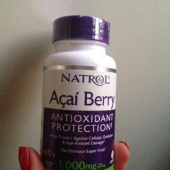 Acai Berry, 1,000 mg, 75 Veggie Caps. By Natrol