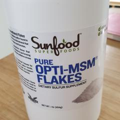 Sunfood, Pure Opti-MSM Flakes, 1 lb (454 g) - iHerb com