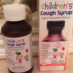 NatraBio, Children's Cough Syrup, Yummy Cherry-Berry Flavor