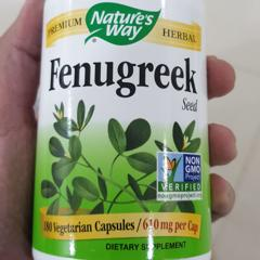 Customer Reviews - Nature's Way, Fenugreek Seed, 610 mg, 180