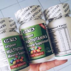 Deva, Vegan, Multivitamin & Mineral Supplement, Tiny Tablets, 90 Tablets - customer photo 1