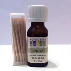 Aura Cacia, Pure Essential Oil, Vetiver, .5 fl oz (15 ml) - customer photo 5
