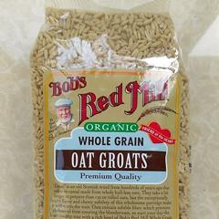 Bob's Red Mill, Organic Whole Grain Oat Groats, 29 oz (822 g