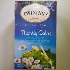 Twinings, Herbal Tea, Nightly Calm, Naturally Caffeine Free, 20 Tea Bags, 1.02 oz (29g) - customer photo 3