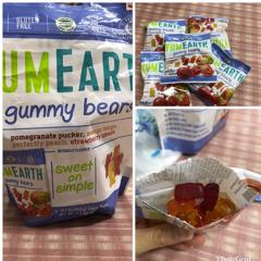 YumEarth, Gummy Bears, Assorted Flavors, 5 Snack Packs, 0 7