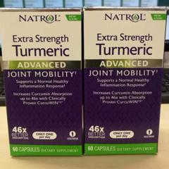 Natrol, Extra Strength Turmeric, Advanced, 60 Capsules - customer photo 5