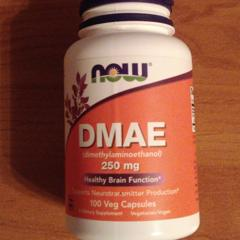 Now Foods, DMAE, 250 mg, 100 Veg Capsules - customer photo 5