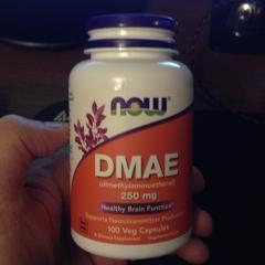 Now Foods, DMAE, 250 mg, 100 Veg Capsules - customer photo 1
