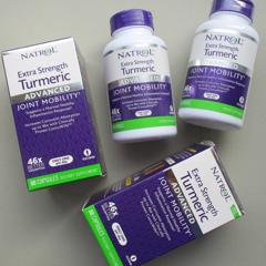 Natrol, Extra Strength Turmeric, Advanced, 60 Capsules - customer photo 0