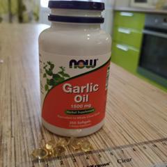 Now Foods, Garlic Oil, 1,500 mg, 250 Softgels - customer photo 0