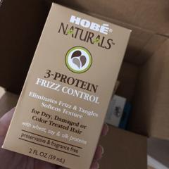 Hobe Labs, 3-Protein Frizz Control, 2 fl oz (59 ml) - customer photo 1