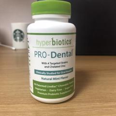Hyperbiotics, PRO-Dental, Natural Mint Flavor, 90 Chewable Tablets - customer photo 1