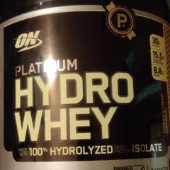 Optimum Nutrition, Platinum Hydro Whey, Cookies & Cream Overdrive, 3.5 lbs (1.59 kg) - customer photo 0