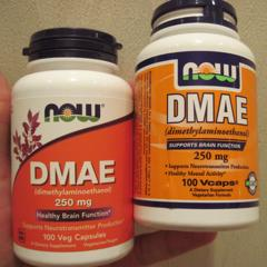 Now Foods, DMAE, 250 mg, 100 Veg Capsules - customer photo 8