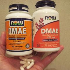 Now Foods, DMAE, 250 mg, 100 Veg Capsules - customer photo 9