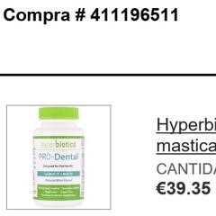 Hyperbiotics, PRO-Dental, Natural Mint Flavor, 90 Chewable Tablets - customer photo 4