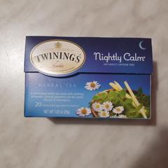 Twinings, Herbal Tea, Nightly Calm, Naturally Caffeine Free, 20 Tea Bags, 1.02 oz (29g) - customer photo 1