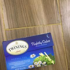 Twinings, Herbal Tea, Nightly Calm, Naturally Caffeine Free, 20 Tea Bags, 1.02 oz (29g) - customer photo 0