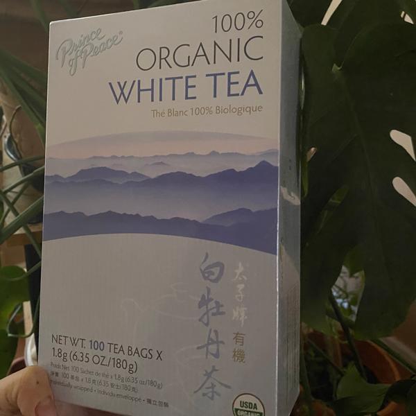 الشاي الابيض العضوي من اي هيرب